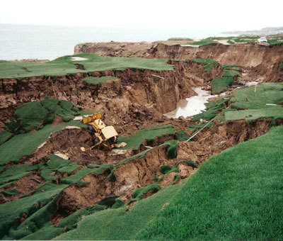 HGI has extensive experience in landslide repair, stabilization and mitigation