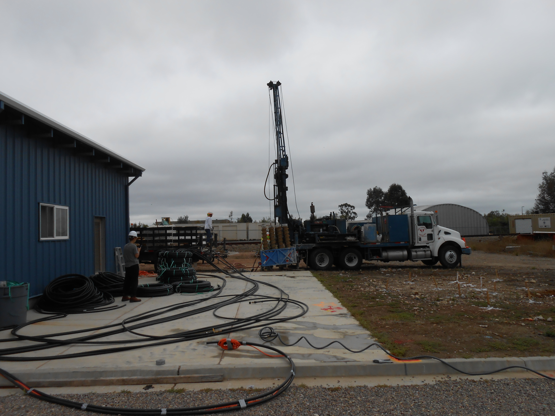 Drilling for Geotechnical Subsurface Investigation