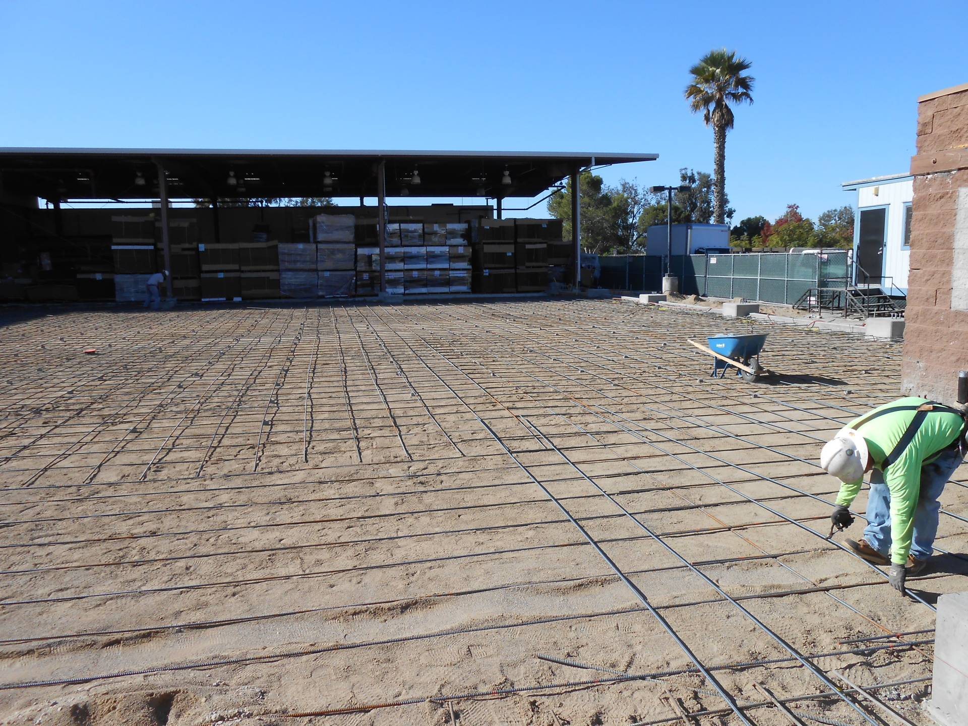 Compaction Testing Building Pad